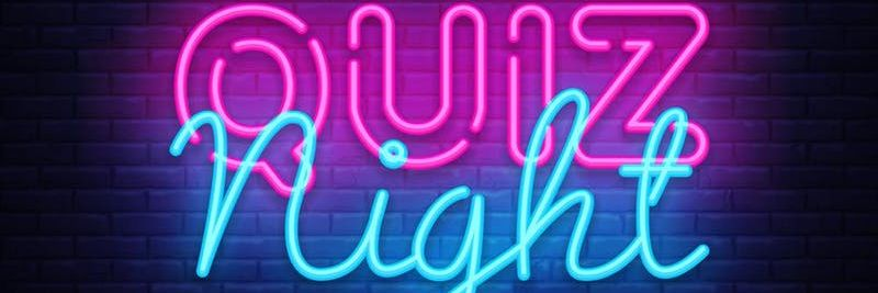Neon Sign Quiz Night